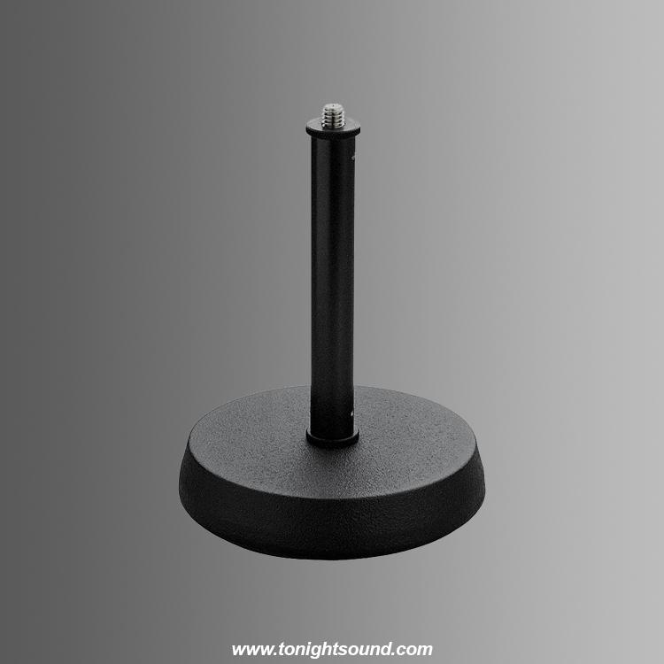 location pied micro table noir k m 232 tonightsound. Black Bedroom Furniture Sets. Home Design Ideas