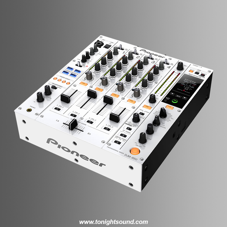 Location Pioneer DJM-850 White table de mixage pioneer DJM blanche