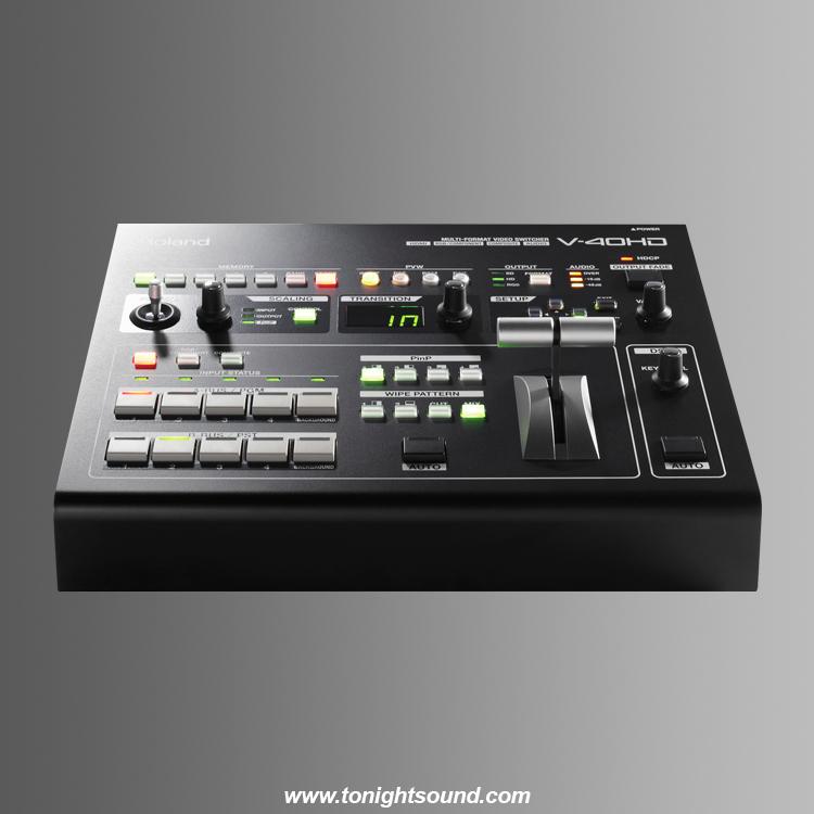 Location régie vidéo portable full HD mixeur Roland HDMI 1080p