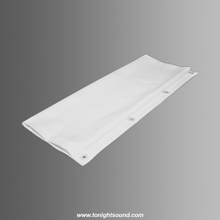 location toile de projection blanche sur mesure tonightsound. Black Bedroom Furniture Sets. Home Design Ideas