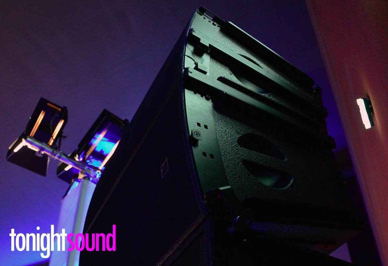 Sonorisation du séminaire Salesforce Essentials L-Acoustics ARCS Wifo WifoTilt