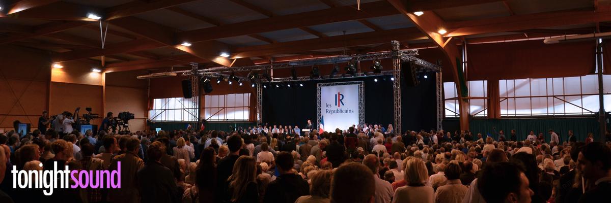 prestataire technique Campus Les Républicains Le Touquet 2015