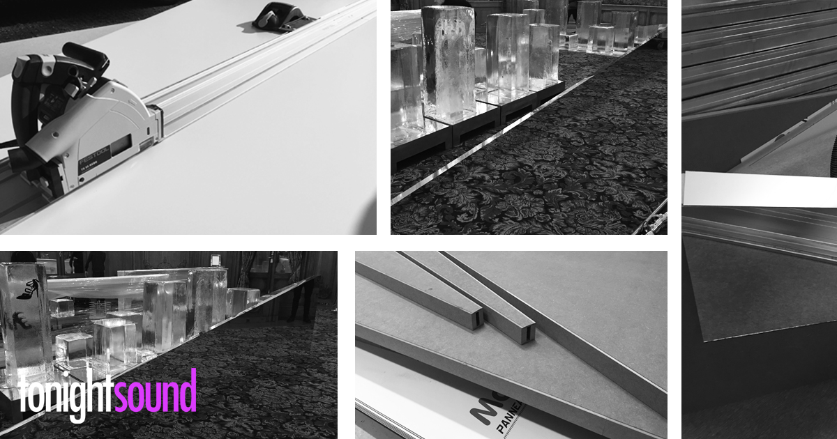 Conception et réalisation de décor bois alu sur mesure par Tonightsound