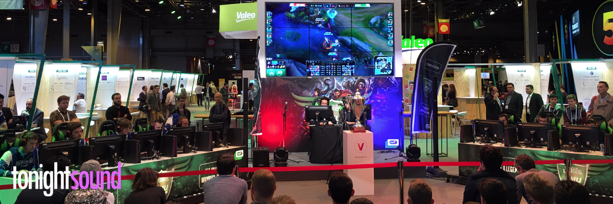 Salon VivaTech : éclairage du tournoi League Of Legends PMU Challenge