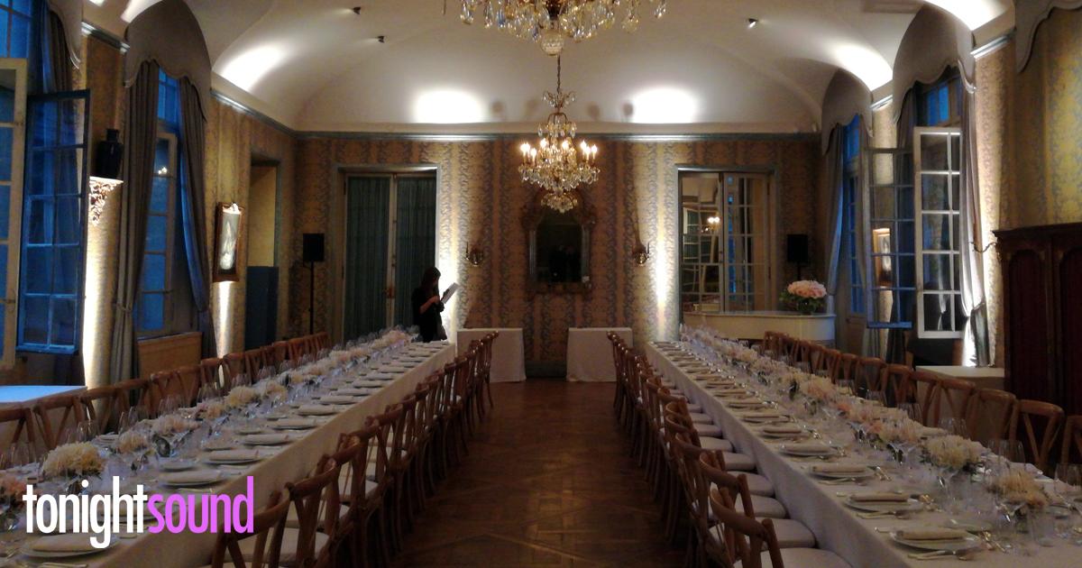 Mise en lumière diner au Musée Carnavalet pour Chloé