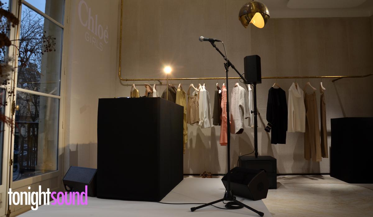 sonorisation Concert IAMDDB pour Chloé Montaigne L-Acoustics X8 SB15