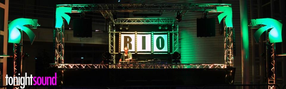 Sonorisation et éclairage soirée étudiante à thème RIO du BDE ECO MLV