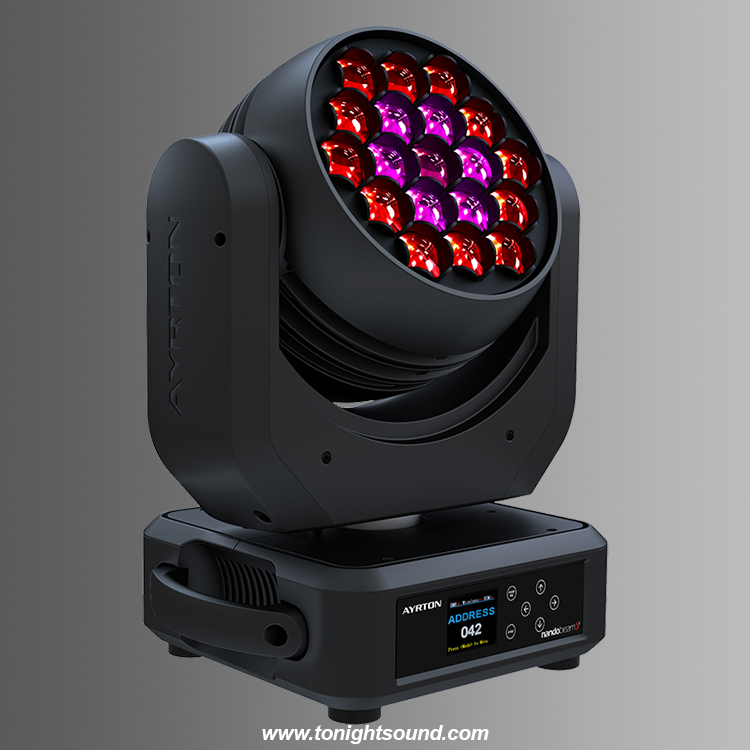 Location Ayrton Nandobeam S3 Lyre Wash Beam LED