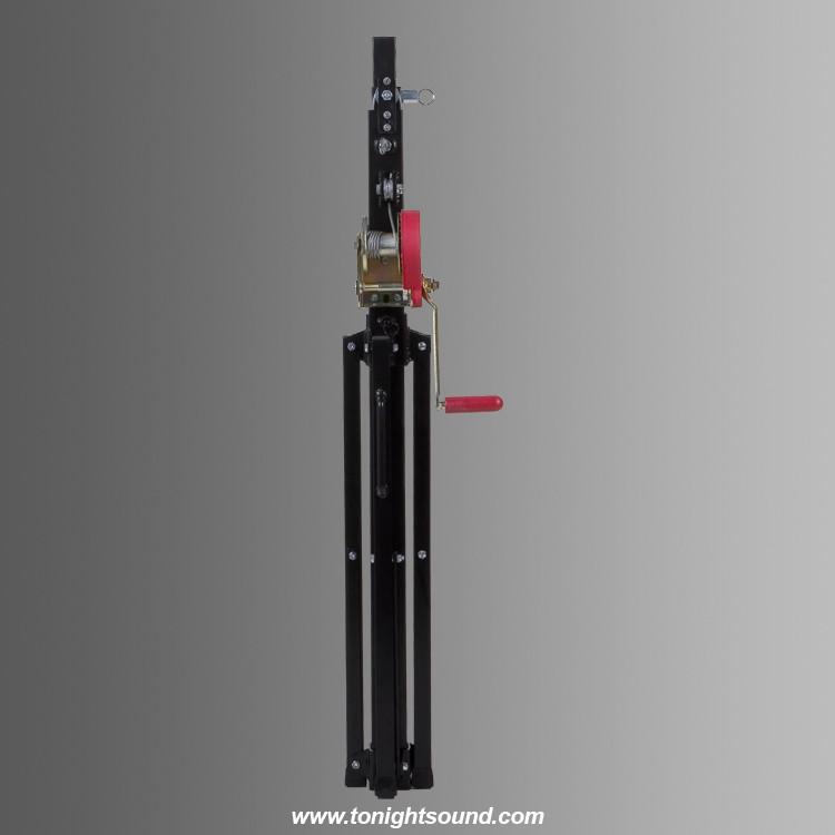 Pied de levage à treuil FANTEK T101 Noir