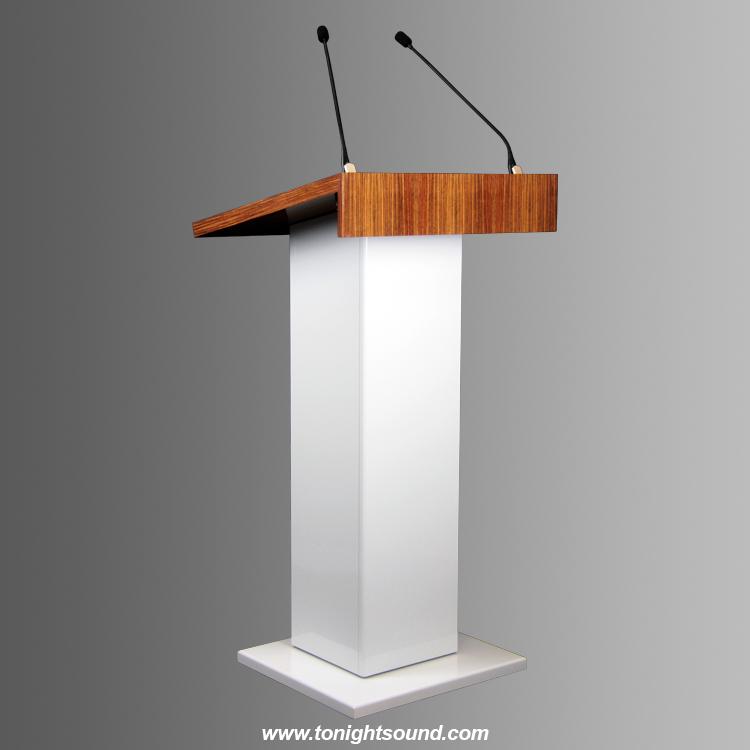Location pupitre en bois Conférence MILLECIA haut de gamme