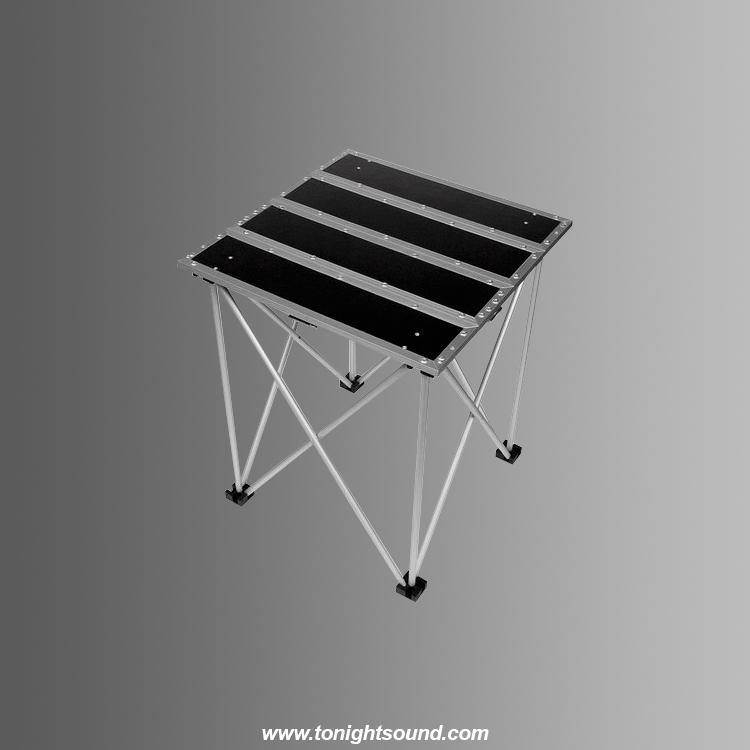 Location table basse pliante pour régie et vidéo-projecteur