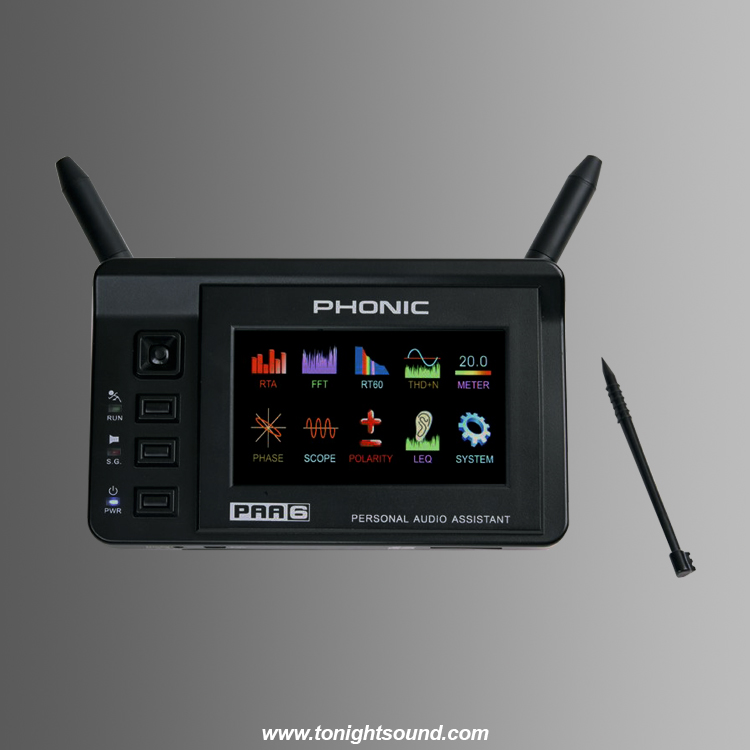 Location analyseur portable audio phonic sono