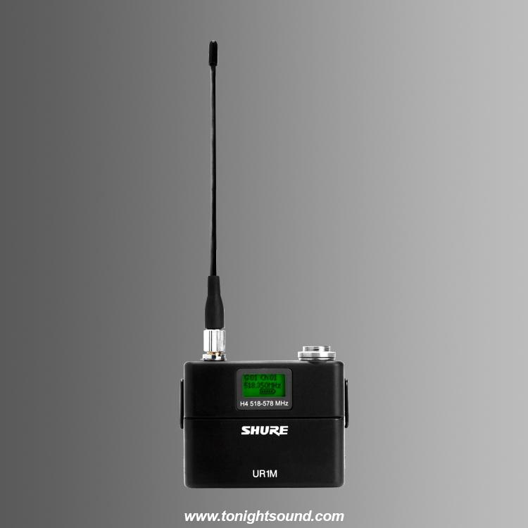 Location Shure UR1 M emetteur pocket micros UHF-R shure UR1m