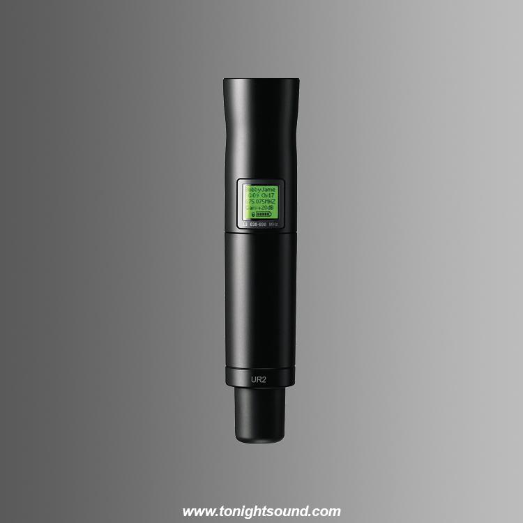 Location micro HF emetteur main micro UHF-R shure UR2