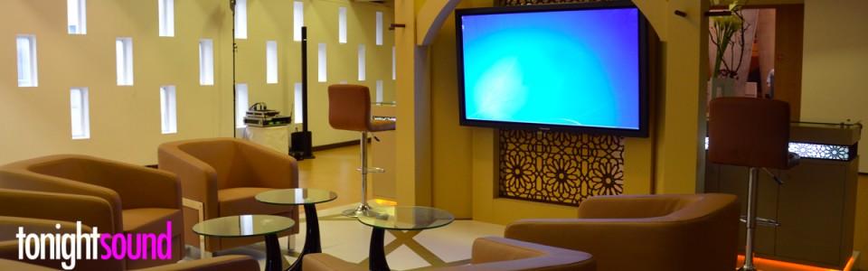 location et Installation vidéo sur un stand à l'UNESCO