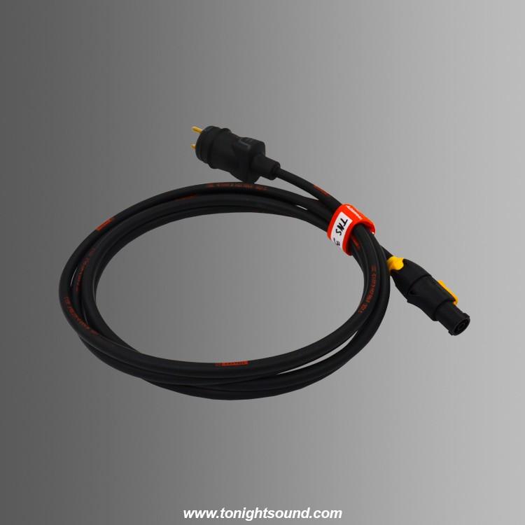 location cable truepowercon pour eclairage robotisé