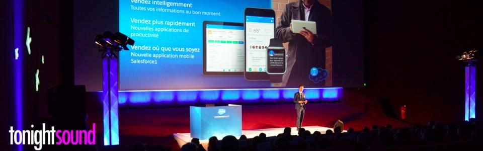 Sonorisation du séminaire Salesforce Essentials Lyon gaumont pathé vaise