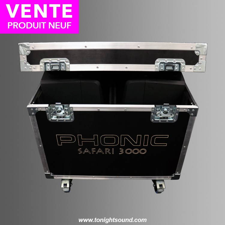 Vente Flight case Phonic Safari 3000