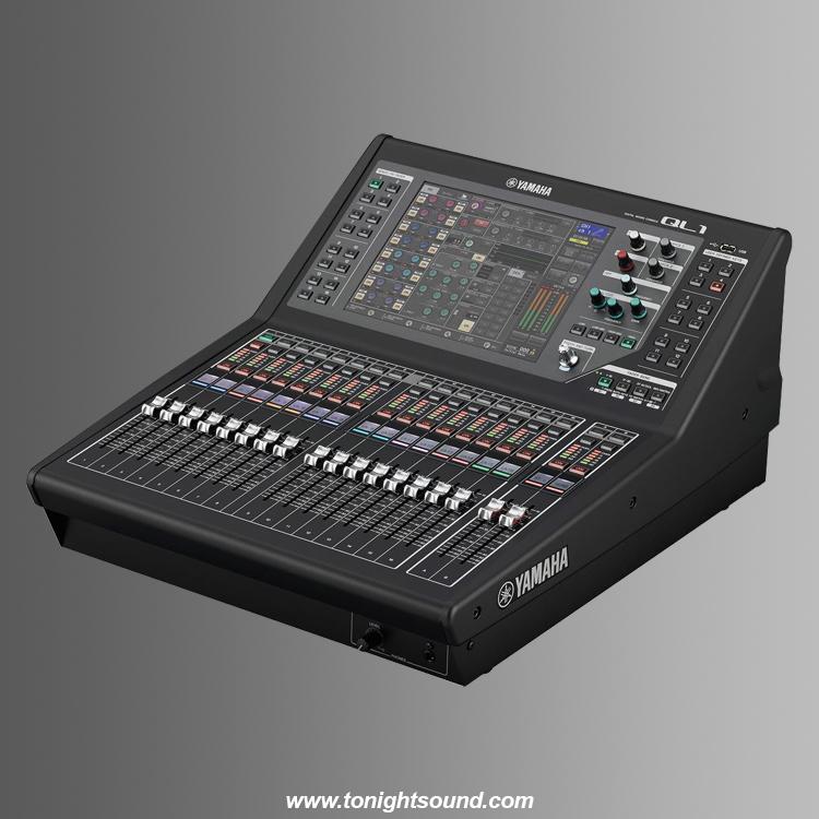 Location Yamaha QL1 console numérique yamaha pour sonorisation