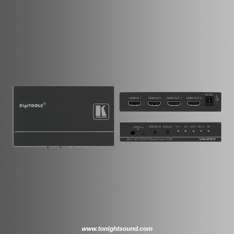 location sélecteur HDMI KRAMER VM-22H distributeur 2 HDMI