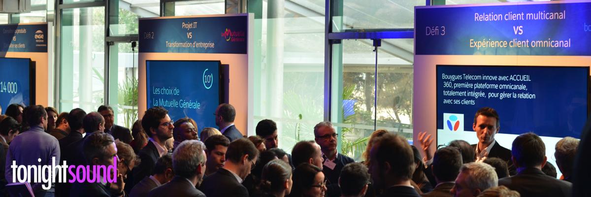 Sonorisation et vidéo projection Service Cloud Excellence au Pavillon Gabriel Potel et Chabot