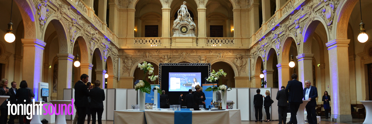 Salesforce Excellence Lyon 2016 prestation technique audio visuelle par Tonightsound