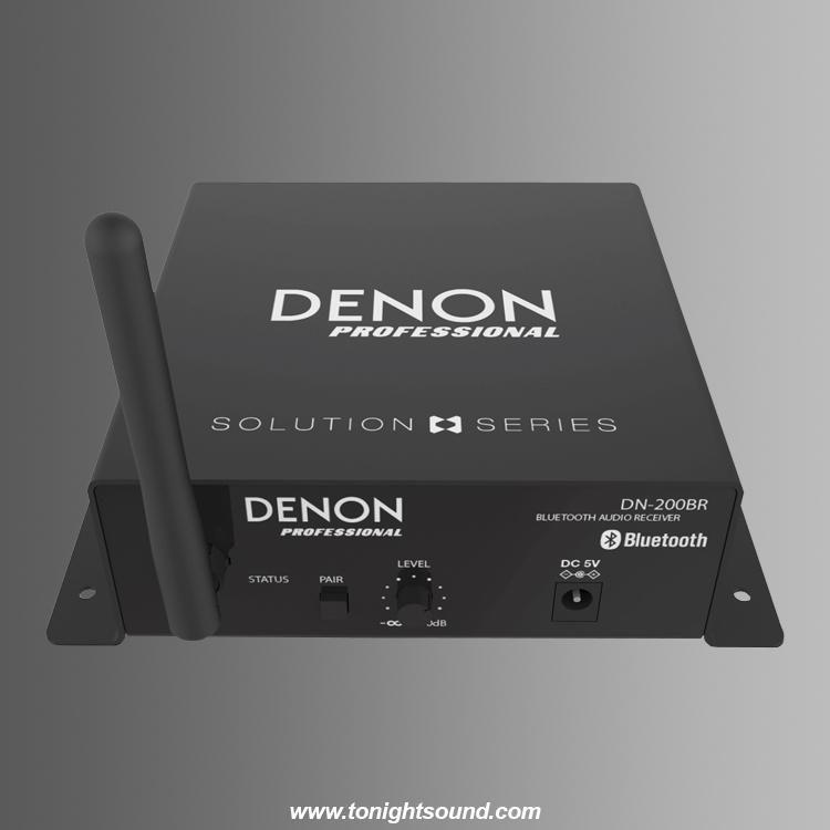 Location récepteur audio Bluetooth DENON Pro DN-200BR pour connexion sans fil
