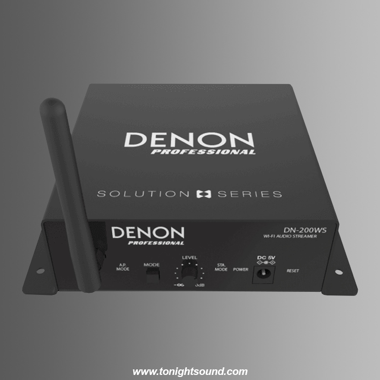 Location récepteur audio WiFi AirPlay DENON Pro DN-200WS