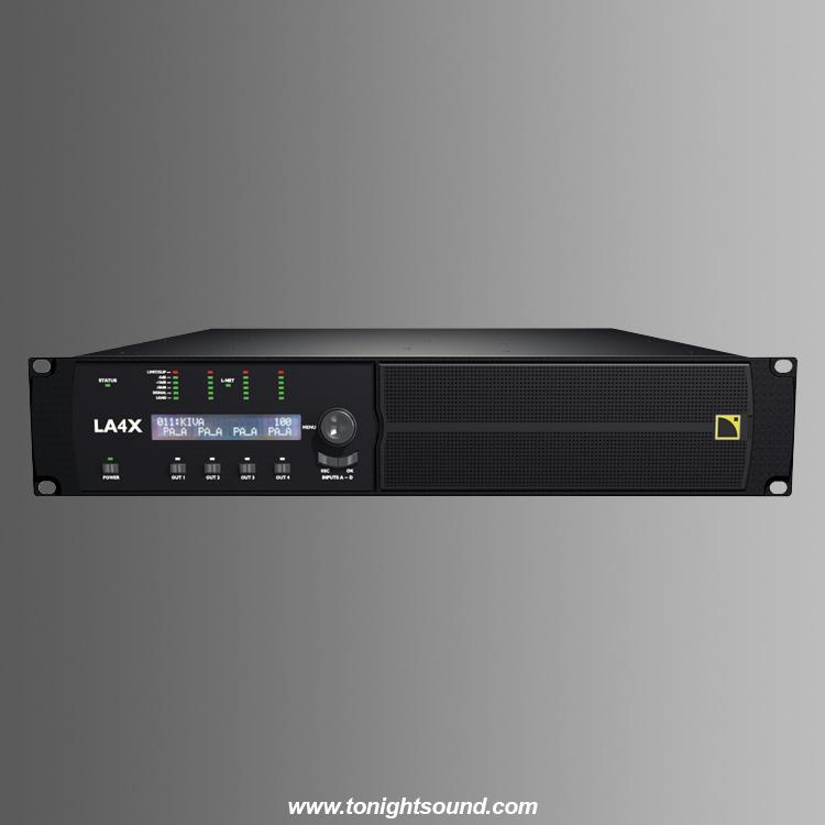 Location L Acoustics LA4X contrôleur amplifié L-Acoustics