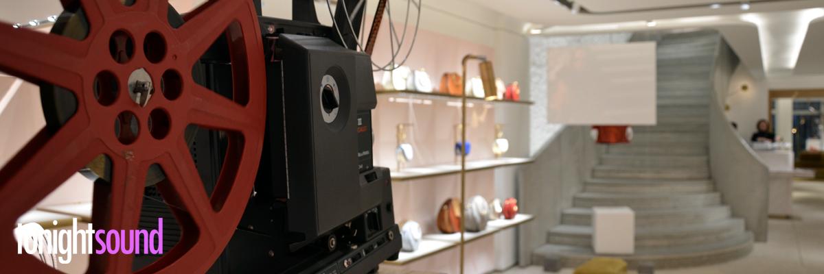 Projection 16mm vintage et Concert IAMDDB pour Chloé Montaigne