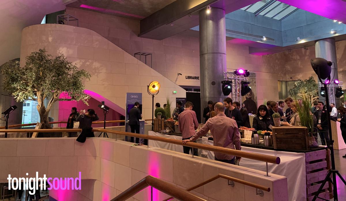 Conférence Dataiku éclairage architectural et  mise en lumière des éléments de déco